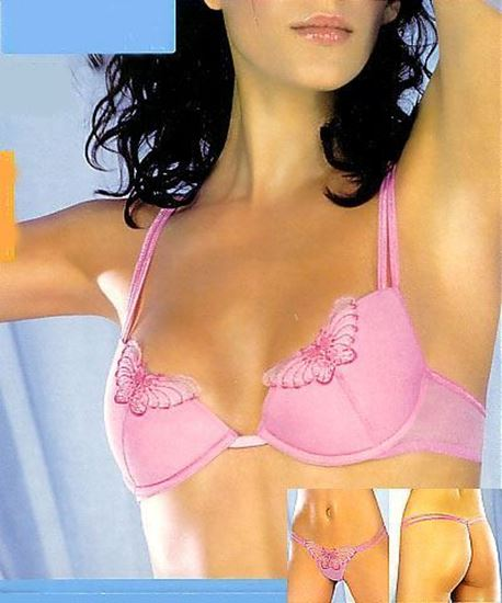 Butterfly 3134 - Push up Bra and String