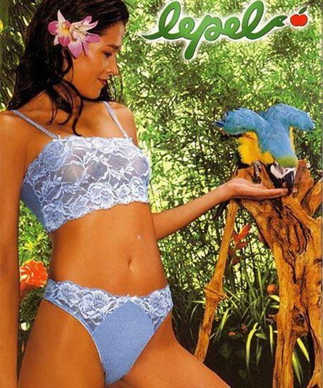 Ivonne - Lingerie Set, Minitop and Panties