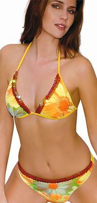 Amarea style 052 - Floral Fashion Bikini Set
